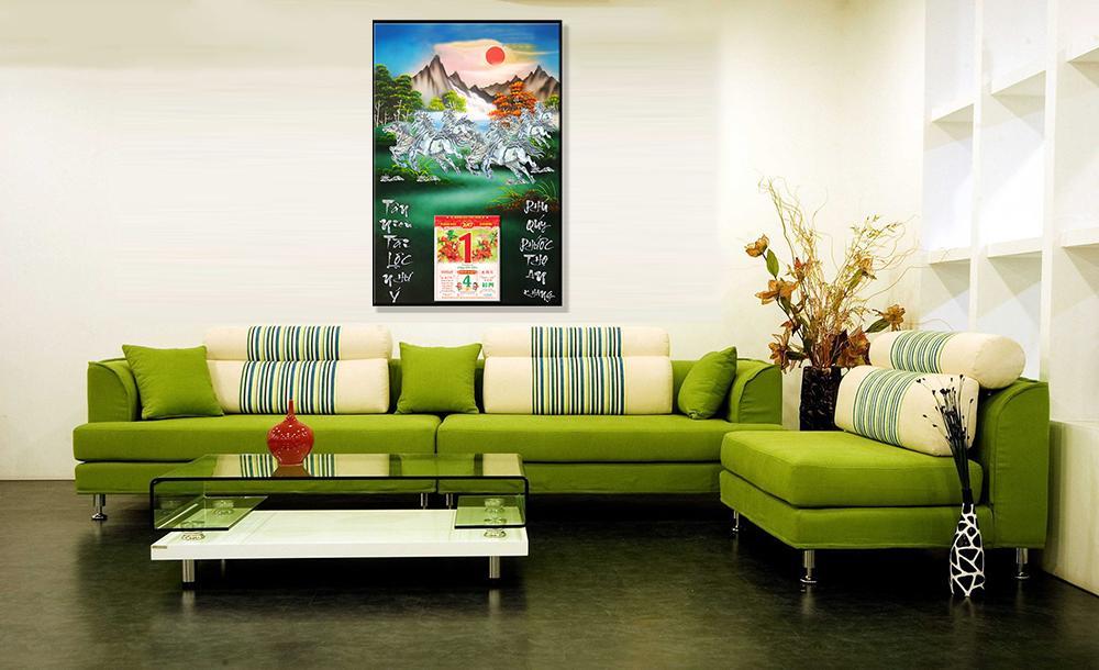 Màu sắc nổi bật làm tôn lên vẻ đẹp cho căn nhà của bạn
